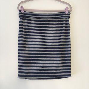 LuLaRoe striped Cassie skirt M